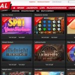 Bingoal.be Casino Homepage